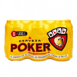 Six pack poker 355 ml