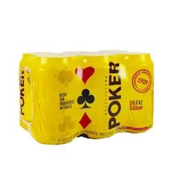 Six pack poker 330 ml