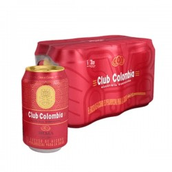 cerveza Club colombia roja 355 ml