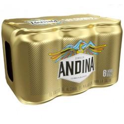cerveza andina 355 ml six pack