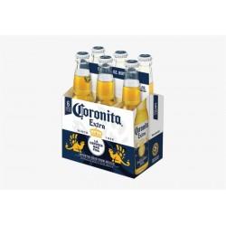 cerveza coronita 207 ml six pack