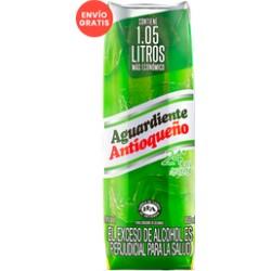 Aguardiente antioqueño verde 1000 ml