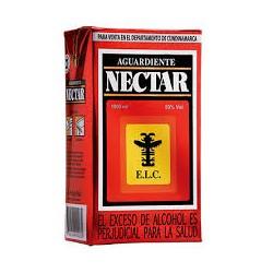 Aguardiente nectar rojo  1000 ml